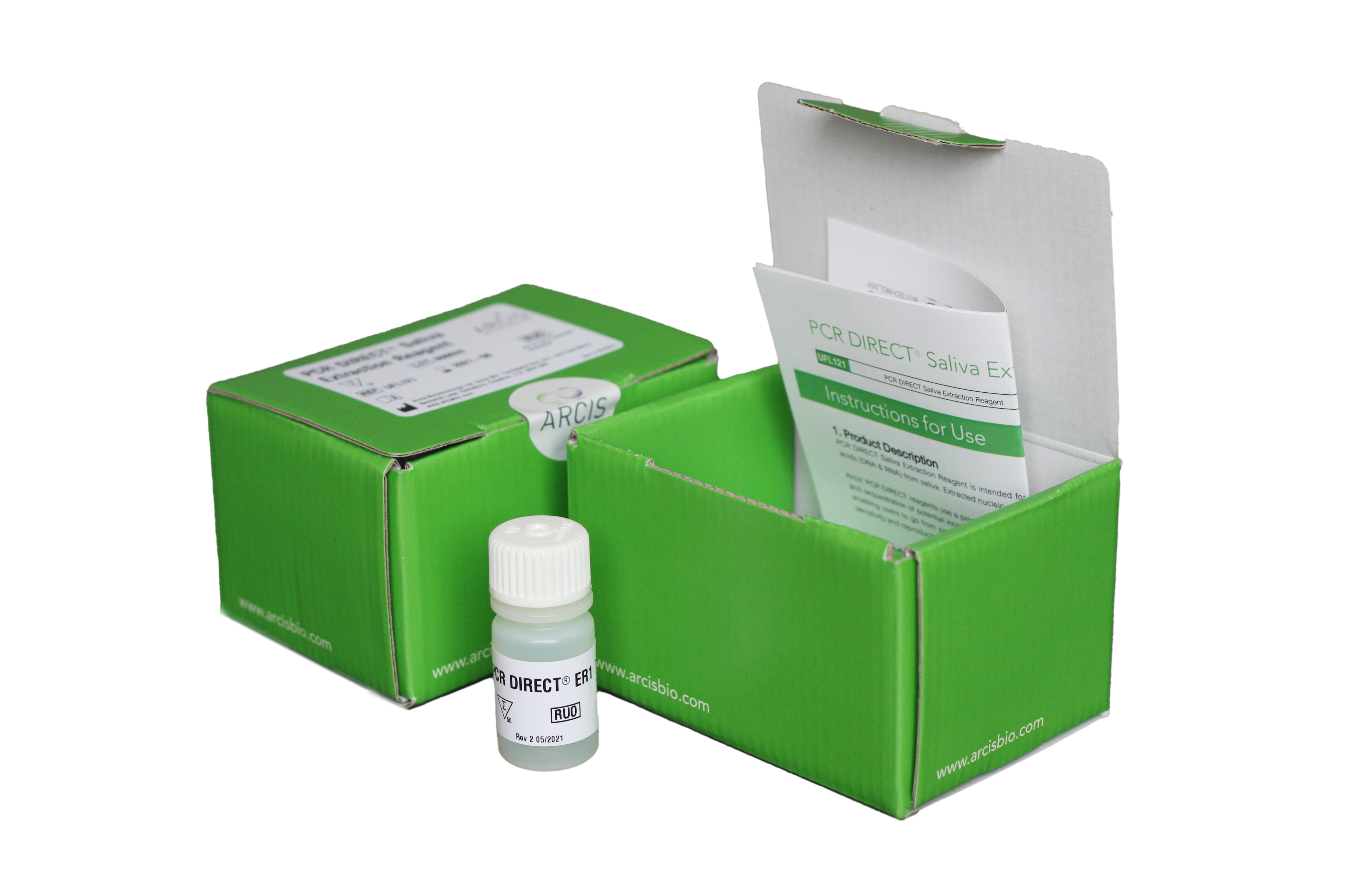 PCR DIRECT product packaging
